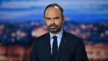 Edouard Philippe sur le plateau de TF1.