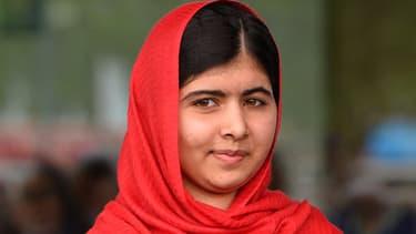 Malala Yousafzai, le 3 septembre 2013 à Birmingham, lors de l'inauguration de la bibliothèque publique de la ville.