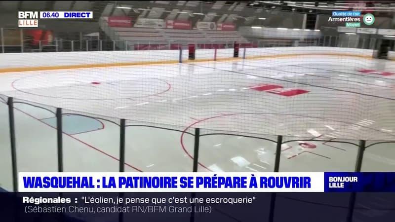 Wasquehal: la patinoire se prépare à rouvrir à la mi-juin