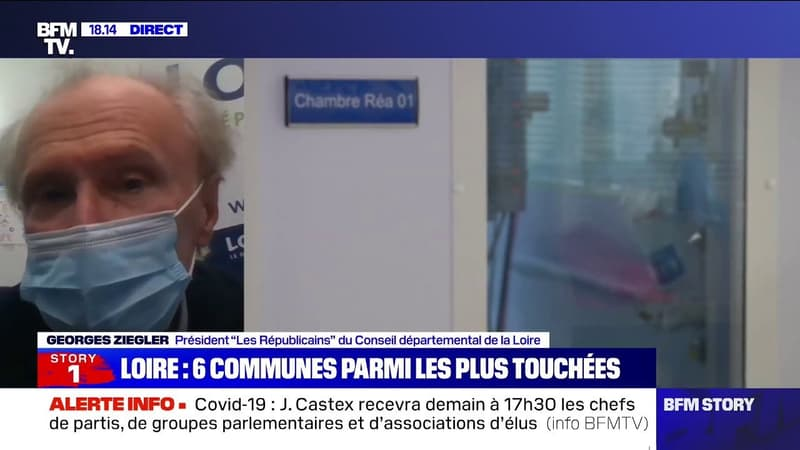 """Reconfinement: pour le président du Conseil départemental de la Loire, """"il y a un choix à faire: l'économie ou la santé"""""""