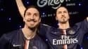 Zlatan Ibrahimovic et son double de cire du musée Grévin