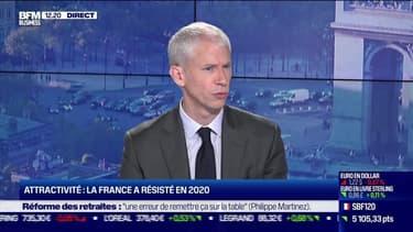 Franck Riester (Ministre) : Attractivité, la France a résisté en 2020 - 07/06
