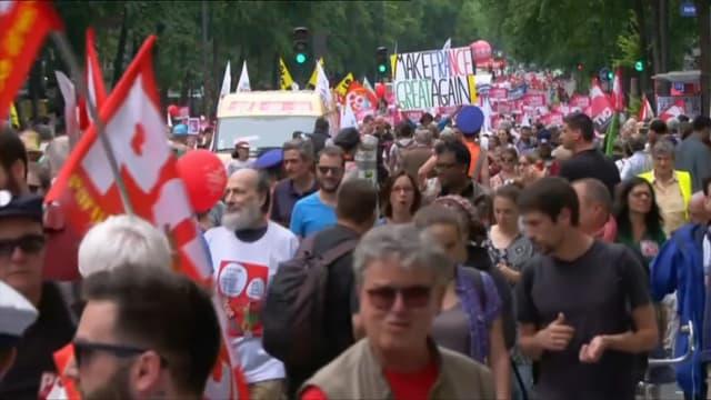 """""""Marée populaire"""" organisée à Paris le 26 mai 2018"""