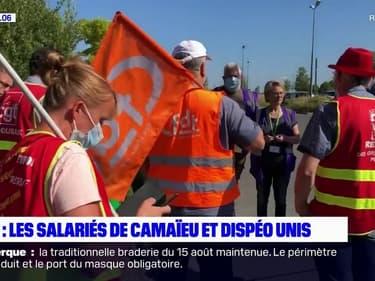 Hem: les salariés de Camaïeu et Dispéo unis pour sauver leurs emplois