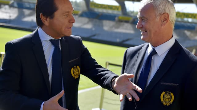 Waldemar Kita et Claudio Ranieri