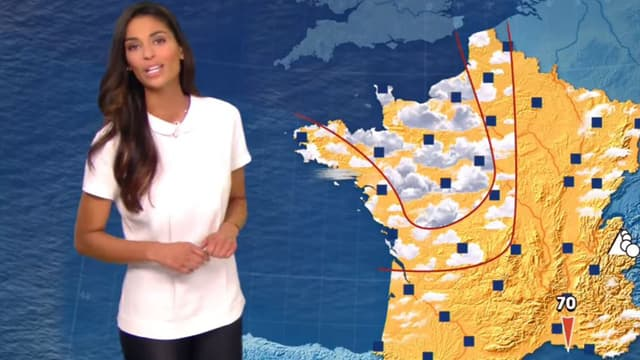 Le premier bulletin météo de Tatiana Silva