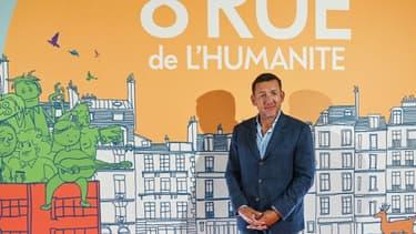 """Dany Boon présente son dernier film """"8, rue de l'humanité"""", le 24 septembre 2021 à Vitry-en-Artois"""