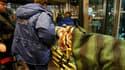 Evacuation d'un blessé lundi après un attentat suicide à l'aéroport moscovite de Domodedovo. L'attaque a fait au moins 35 morts et plus de 150 blessés. /Photo prise le 24 janvier 2011/REUTERS/Denis Sinyakov