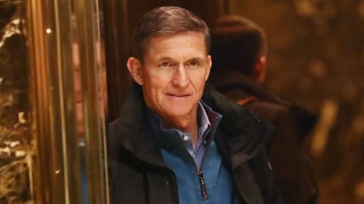 Michael Flynn, l'ancien conseiller de Donald Trump, le 29 novembre 2016