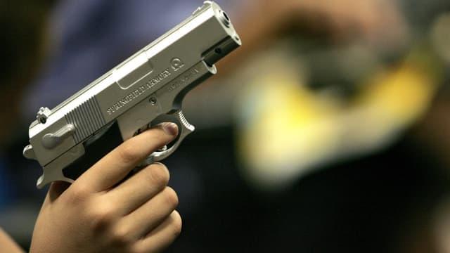 Le nombre d'armes de poing dans les foyers américains a augmenté ces quarante dernières années. Photo d'illustration