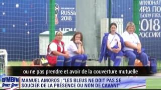 France - Uruguay : Cavani, bête noire, duel... Amoros livre les clés du match (ST)
