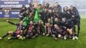 Les Parisiens fêtent leur victoire dans le Trophée des champions