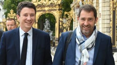 Benjamin Griveaux et Christophe Castaner.