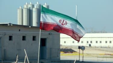 Photo d'une centrale nucléaire à Bouchehr, en Iran