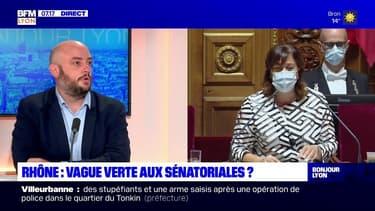 """Élections sénatoriales: """"le Rhône va porter un espoir"""" d'alternance, affirme Thomas Dossus, candidat EELV"""