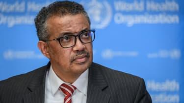 Tedros Adhanom Ghebreyesus, directeur général de l'OMS, le 11 mars 2020