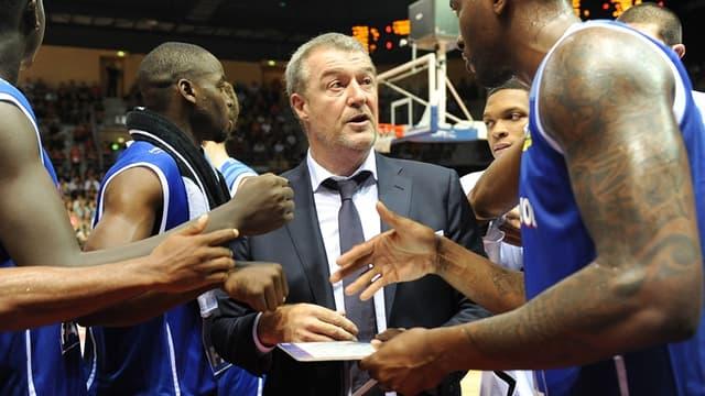 Greg Beugnot, l'entraîneur de Paris-Levallois