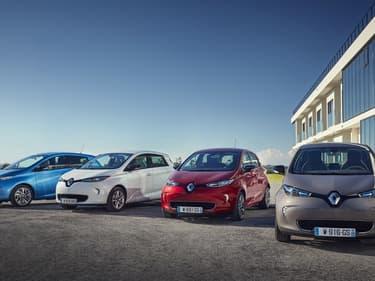 Image d'illustration - Renault réfléchit à l'échange de batteries plutôt qu'à la recharge.