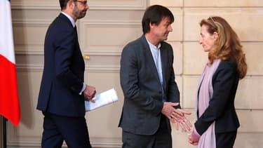 Nicolas Hulot, après l'annonce de l'abandon du projet de Notre-Dame-des-Landes le 17 janvier 2018