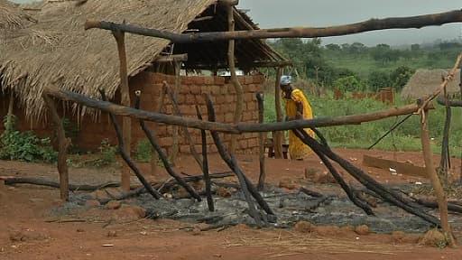 Une femme à Gaga, en Centrafrique.