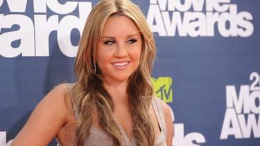 Amanda Bynes en 2011 aux MTV Movie Awards
