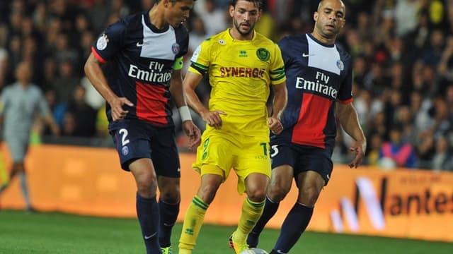 Thiago Silva et Alex au match aller