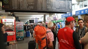 La gare Montparnasse fait partie des chantiers importants de la SNCF.