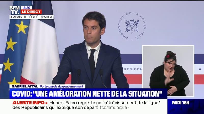 """Gabriel Attal: """"Les aides seront maintenues intégralement ce mois-ci, leur seul point final sera le retour à la normale"""""""