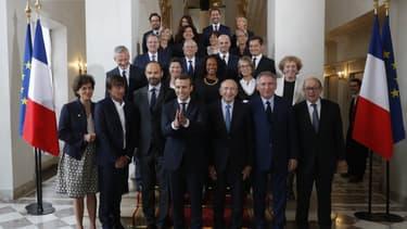 Première photo officielle du gouvernement Macron