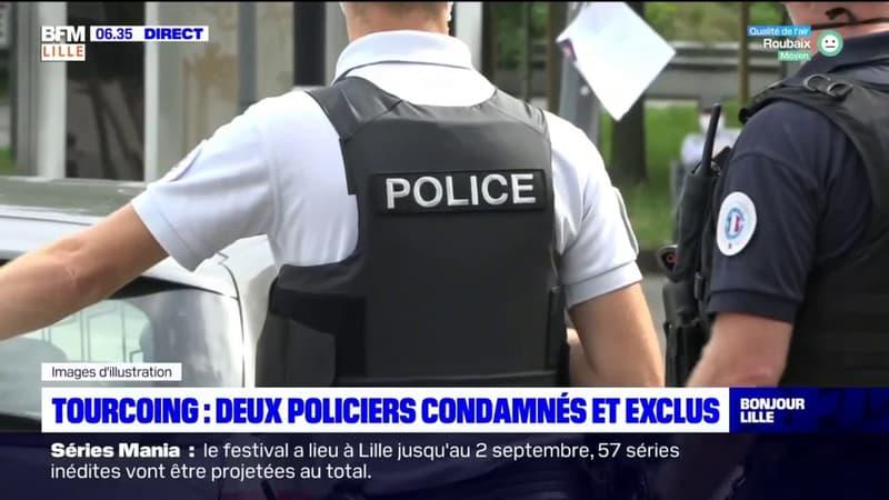 Tourcoing: deux policiers condamnés font appel