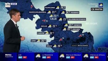Météo: toujours des températures très élevées ce dimanche dans le Nord et le Pas-de-Calais, 37°C attendus à Lille