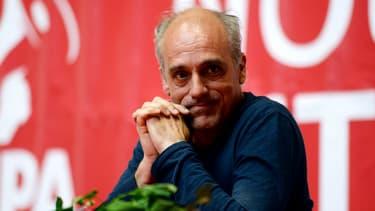 Philippe Poutou le 14 avril 2017 à Rennes.
