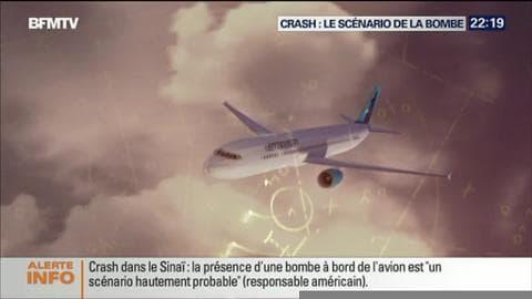 Pour Londres, une bombe pourrait être à l'origine du crash de l'avion russe dans le Sinaï égyptien