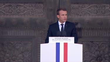 Discours d'Emmanuel Macron pour l'entrée de Simone et Antoine Veil au Panthéon, le 1er juillet 2018