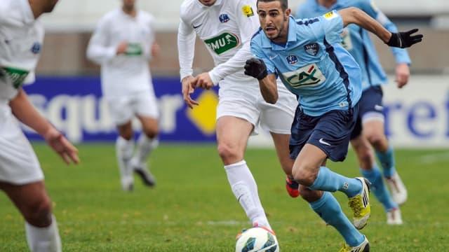 Riyad Mahrez à l'époque où il évoluait avec Le Havre