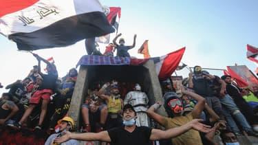 Manifestation contre le régime irakien à Bagdad, le 2 novembre 2019
