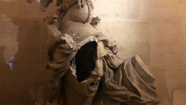 Le moulage de La Marseillaise du Rude sera visible à la restauration.