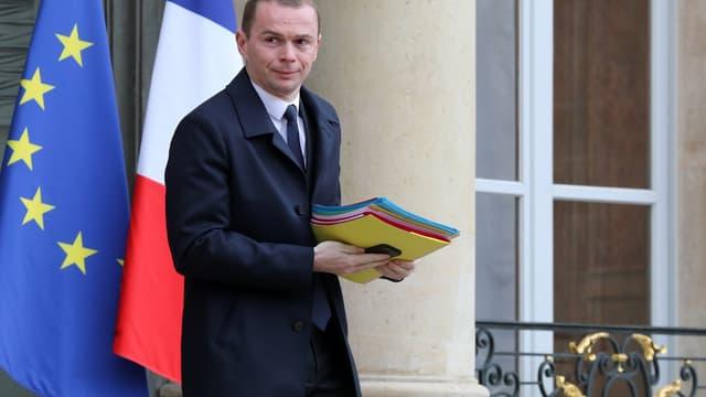 Olivier Dussopt, secrétaire d'Etat auprès du ministre de l'Action et des Comptes publics.