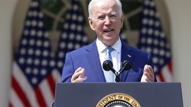 Joe Biden, le 8 avril 2021.