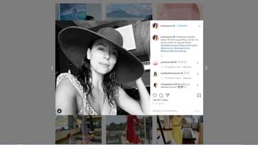 Capture d'écran du compte Instagram de l'actrice Eva Longoria