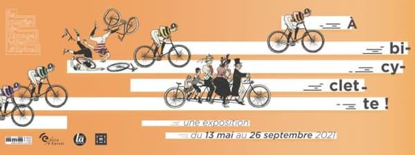 A Bicyclette, au musée de l'Image d'Epinal.
