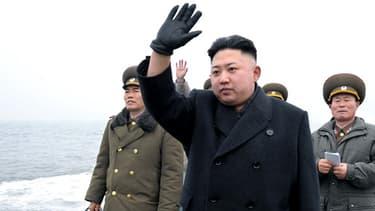 Le leader nord-coréen Kim Jong-Un, en mars dernier.