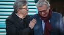Jean-Luc Mélenchon et Pierre Laurent le 24 février 2017