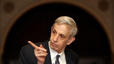 John Nash a partagé le prix Nobel d'économie pour sa théorie des jeux.