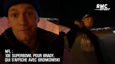 NFL : 10e Superbowl pour Brady, qui s'affiche avec Gronkowski