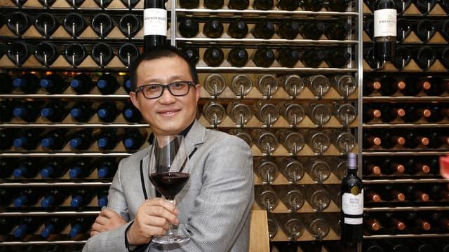 Le directeur exécuif du joaillier Tesiro en mars 2011 à Bordeaux, lorsque son groupe avait acquis le Chateau Laulan Ducos.