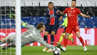 Kylian Mbappé face à Manuel Neuer