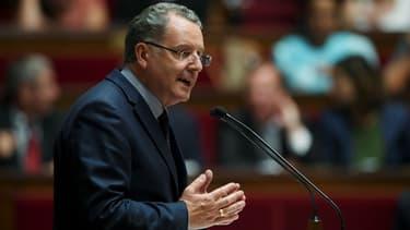Richard Ferrand le 4 juillet 2017 à l'Assemblée nationale