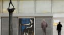 """La Galerie nationale d'art à Athènes fermée après le vol de deux tableaux lundi. Le premier, Tête de femme"""", est une oeuvre de Pablo Picasso, le second, une toile de Piet Mondrian,. /Photo prise le 9 janvier 2012/REUTERS/Yiorgos Karahalis"""