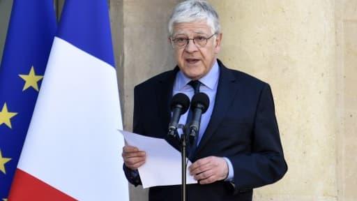 Pierre-René Lemas a remplacé Jean-Pierre Jouyet, lui-même parti le remplacer à l'Elysée.